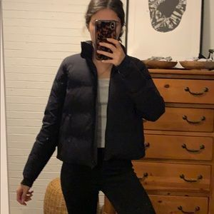 Adorable Lululemon Black Puffer Slush Hour Jacket